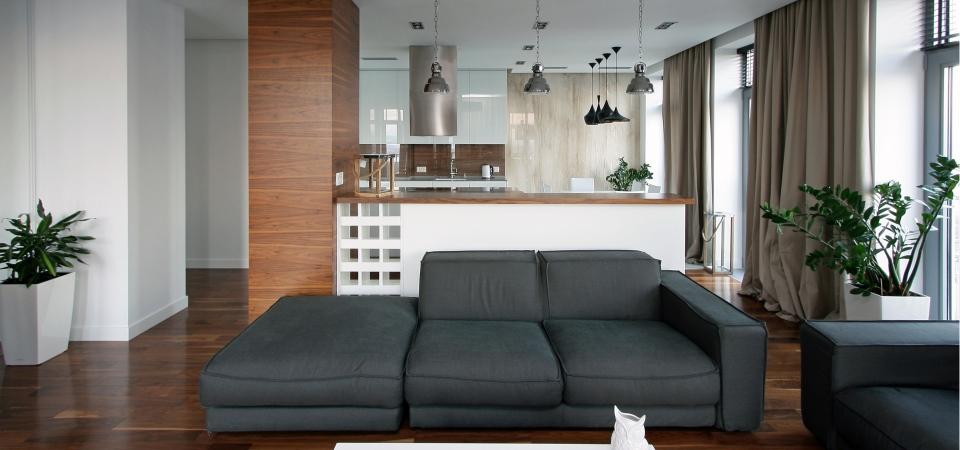 Современная квартира с видом на Днепр