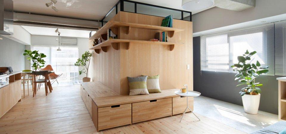 Квартира без дверей: реальный пример из Японии