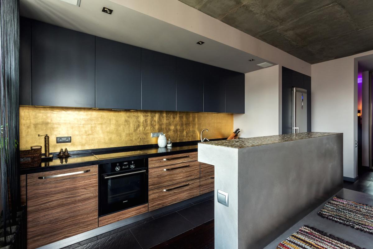 Интерьер недели: индийские мотивы и голый бетон в киевской квартире