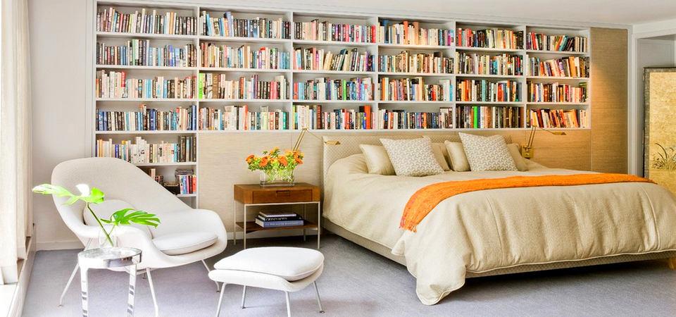 Книжные полки в нише: 5 вещей, о которых нужно помнить