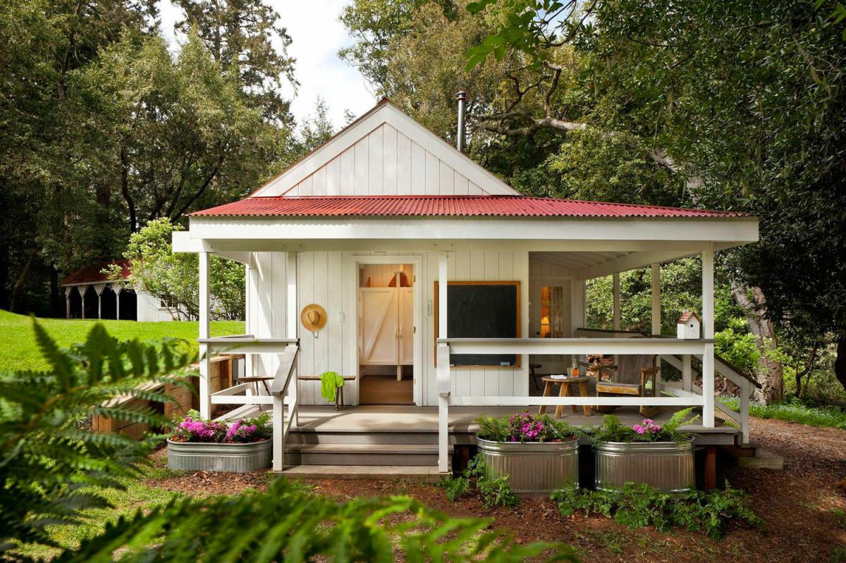 красивый дачный домик фото такое