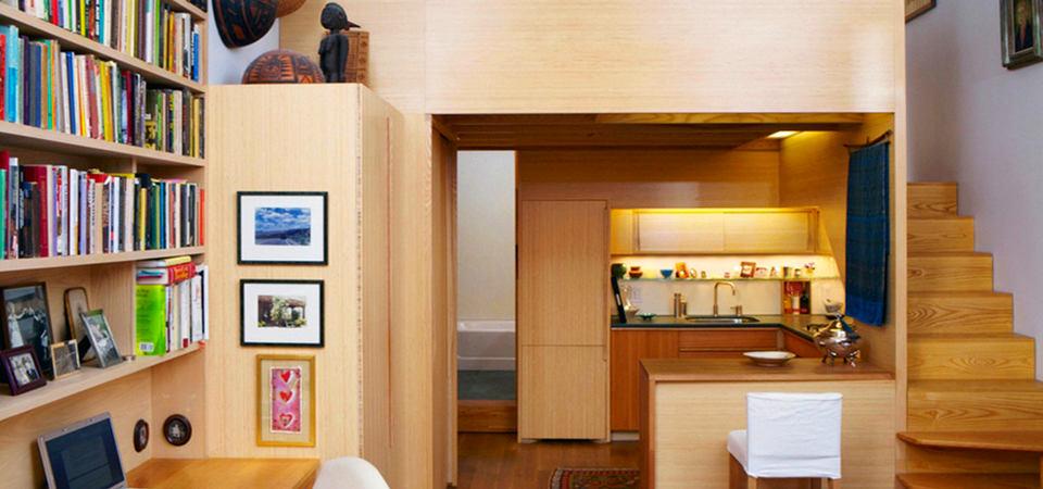 Двухэтажная 22-метровая квартира: комфортно, уютно, просторно