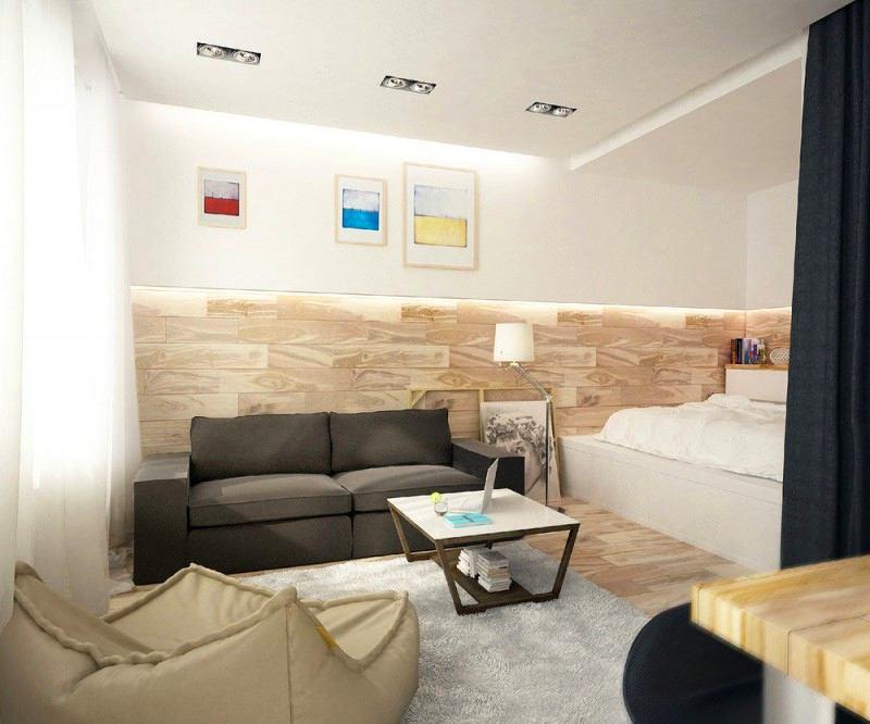 Гостиная, холл в цветах: серый, светло-серый, бежевый. Гостиная, холл в стиле минимализм.