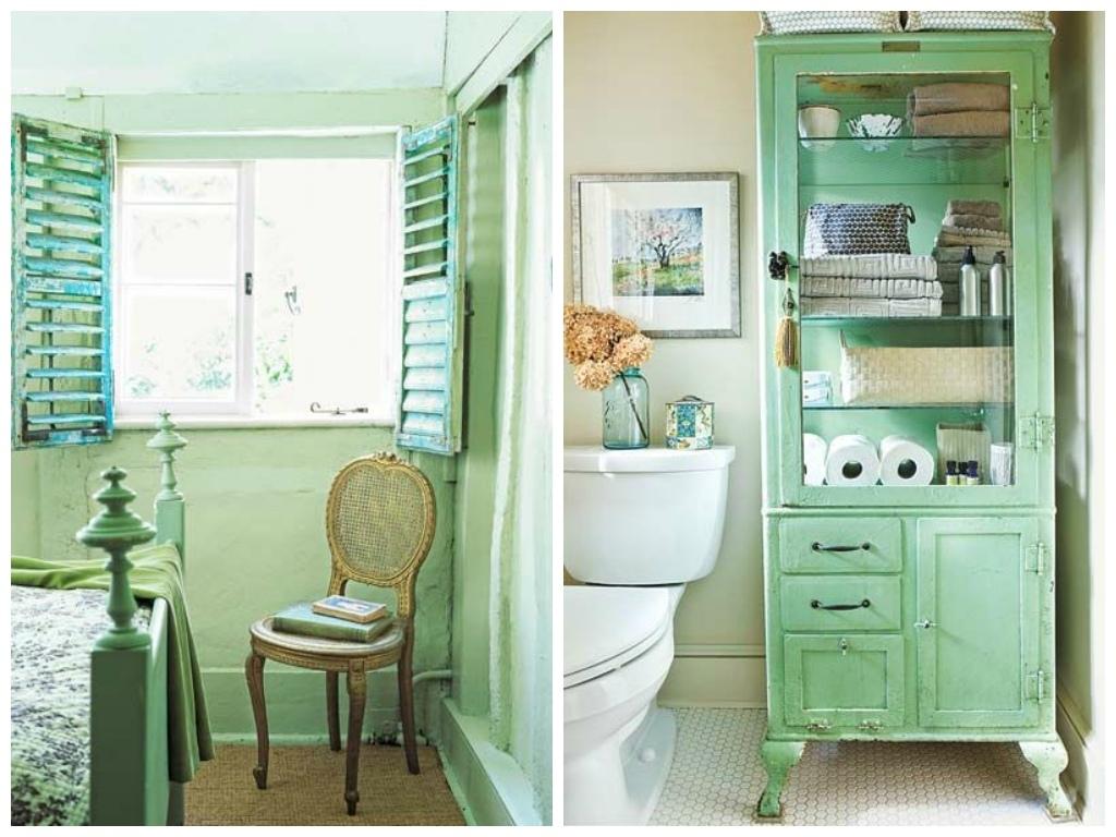 Мебель и предметы интерьера в цветах: светло-серый, темно-зеленый, салатовый, бежевый. Мебель и предметы интерьера в .