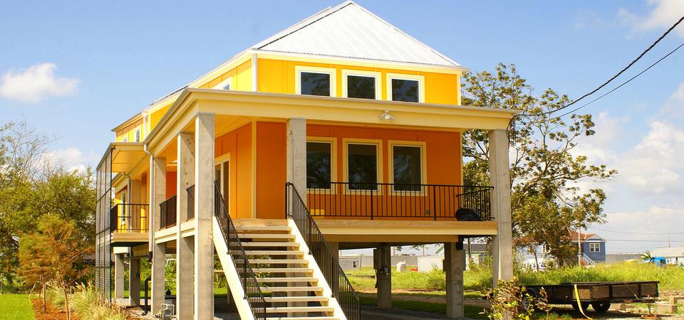 27 реальных и оригинальных домов, которые создал Брэд Питт