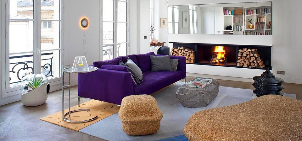 Как сочетать несочетаемое: квартира в Париже