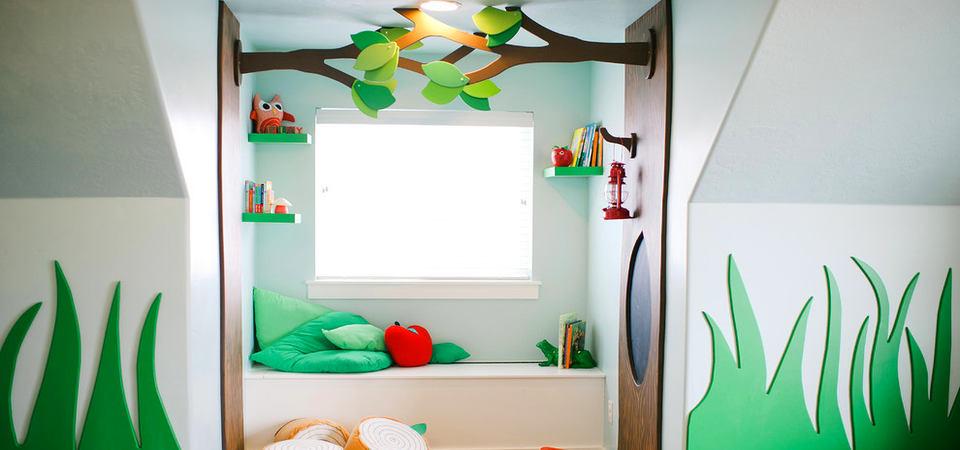 Детская игровая комната на 7 метрах: как оформить, чем декорировать