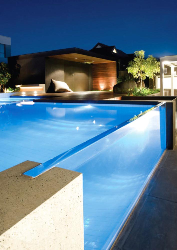 Бассейн, баня, сауна в цветах: голубой, серый, темно-зеленый. Бассейн, баня, сауна в стиле минимализм.