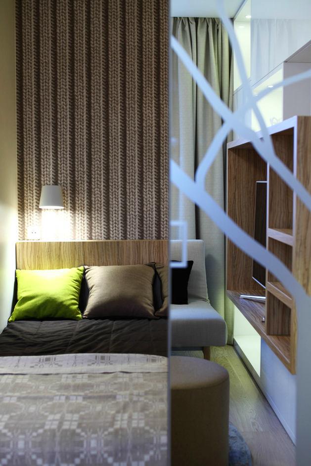 Мебель и предметы интерьера в цветах: серый, белый, салатовый, бежевый. Мебель и предметы интерьера в стилях: минимализм, экологический стиль.