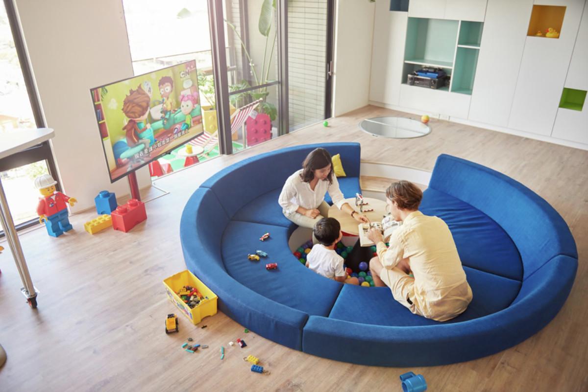Квартира в стиле LEGO: нравится всем