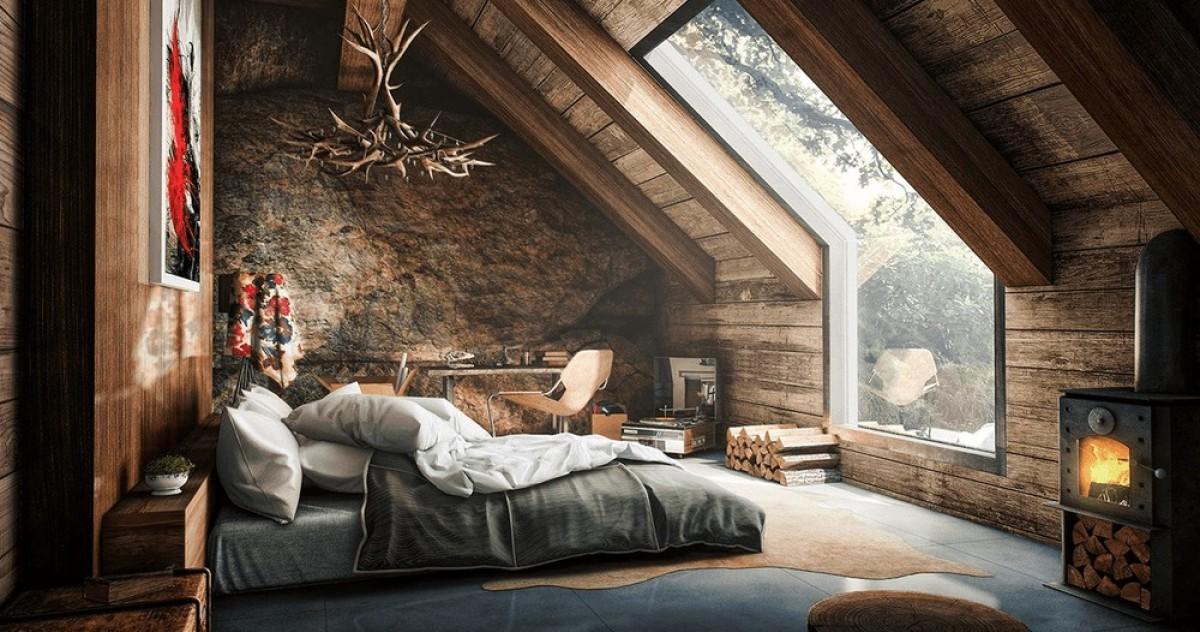 Неженственные спальни для прекрасной половины: 20 неслабых примеров