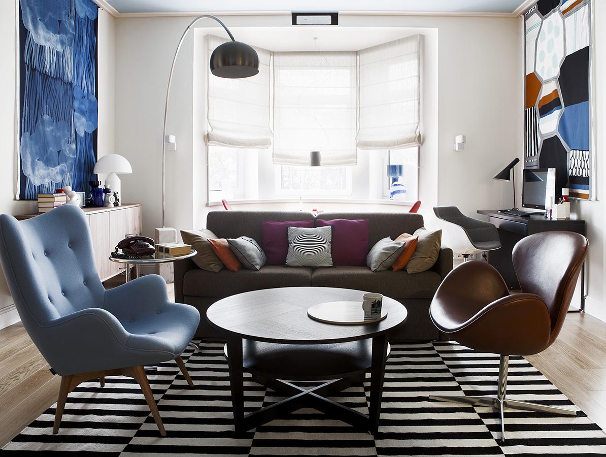 Идеальная квартира для молодой семьи с двумя дочерьми