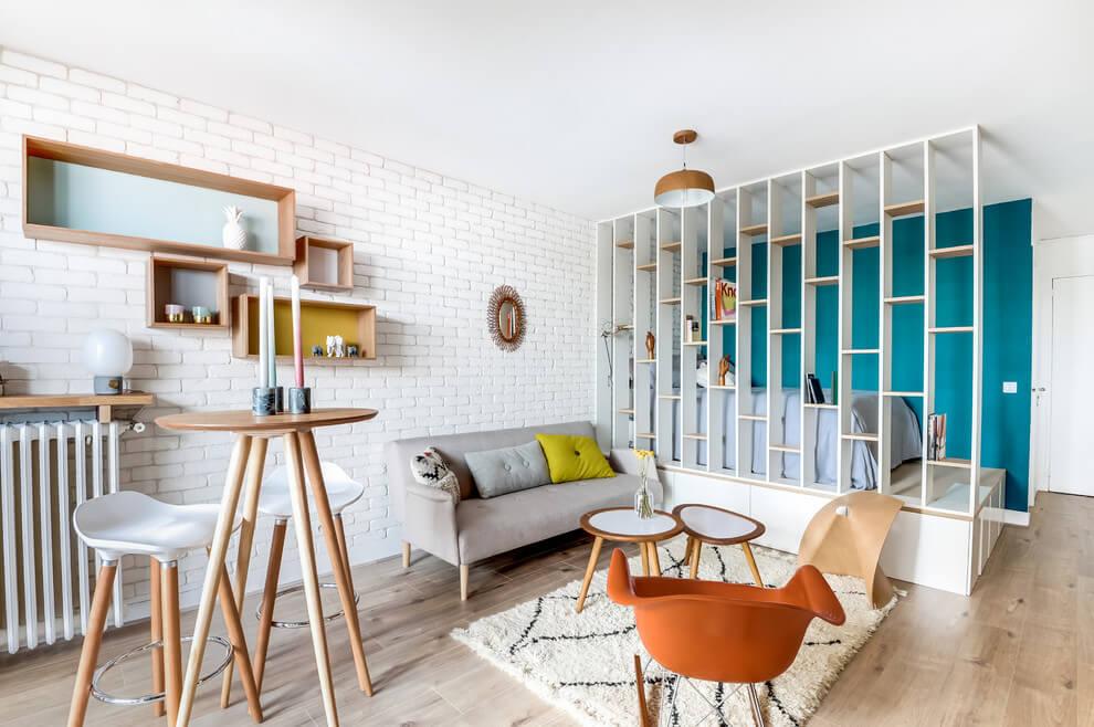 Восхитительная парижская квартира площадью всего 25 метров