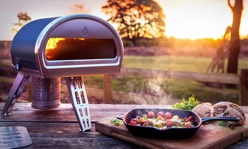 Портативная печка для пиццы