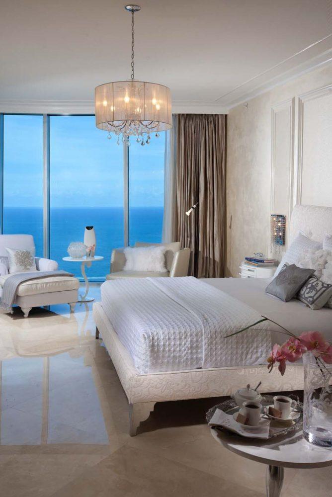 Спальня в  цветах:   Бежевый, Бирюзовый, Коричневый, Светло-серый, Серый.  Спальня в  стиле:   Минимализм.