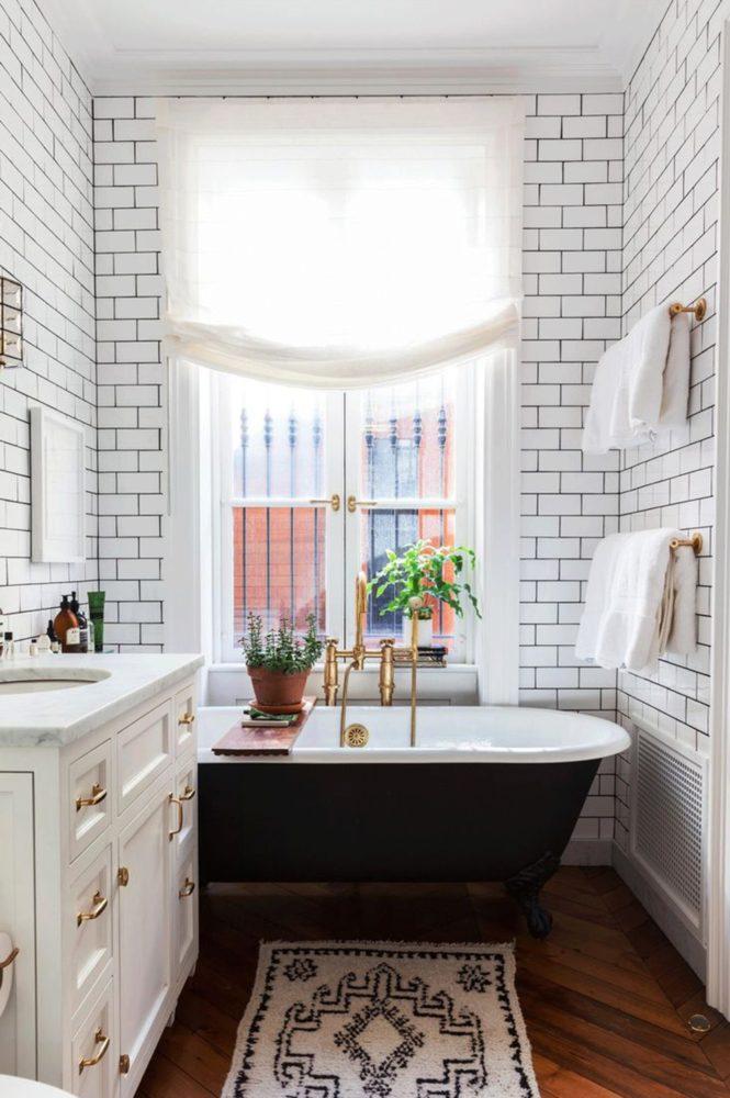 20 ванных комнат мечты: с окнами
