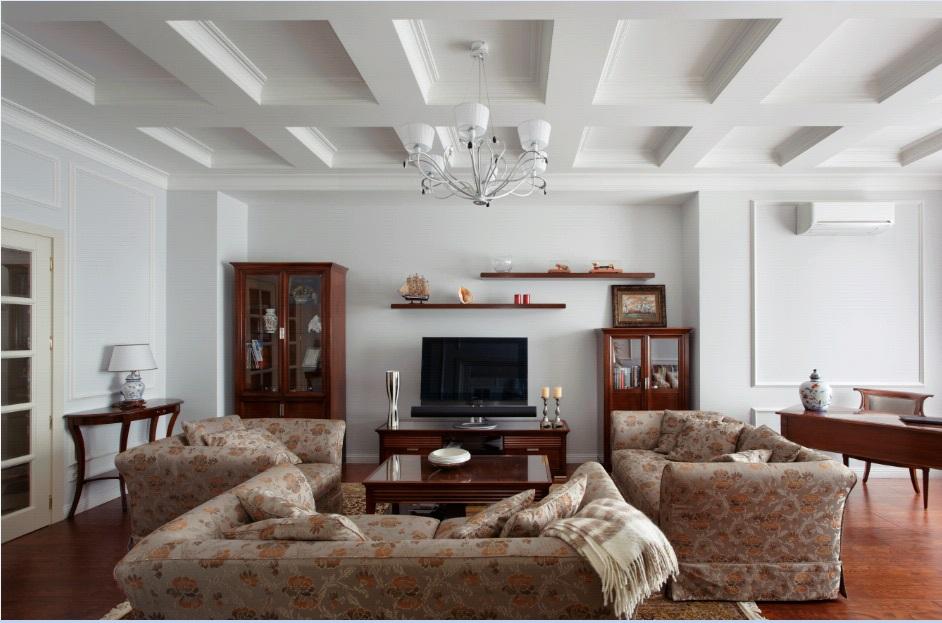 Квартира площадью 145 метров в неоклассике и 10 миллионов рублей на ремонт