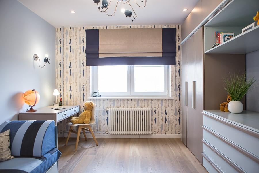 Дизайн детской комнаты для мальчика: реальная история ремонта