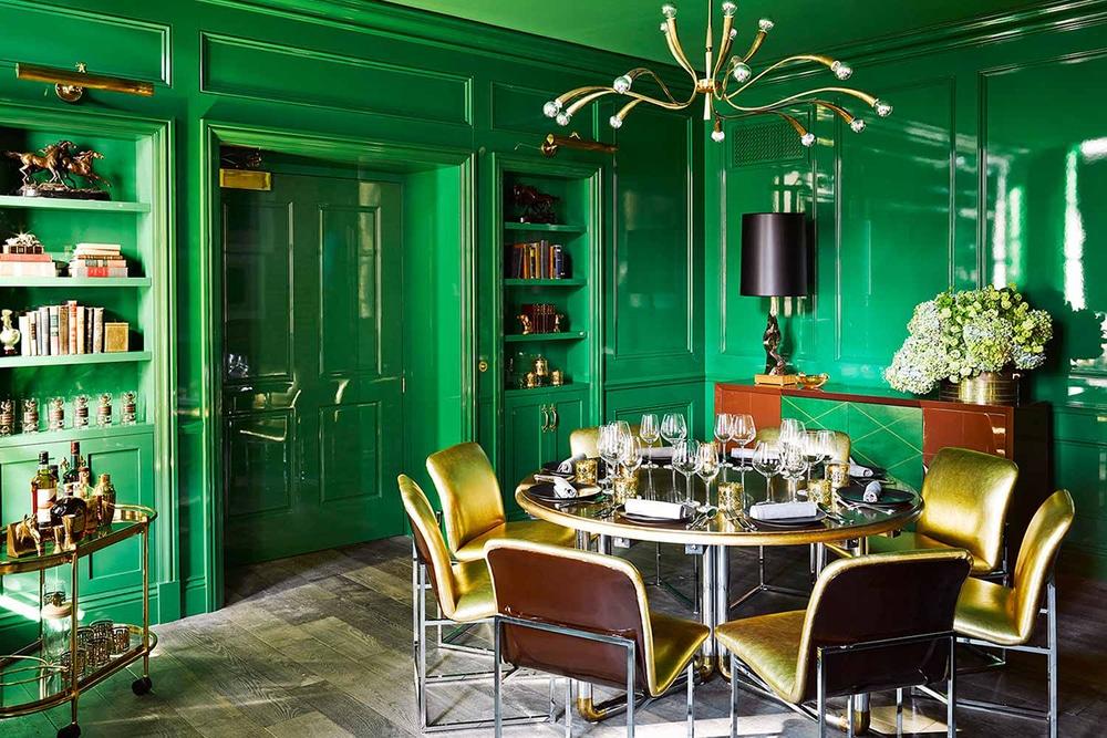 Уроки дизайна с Варварой Зеленецкой: зелёный цвет в интерьере