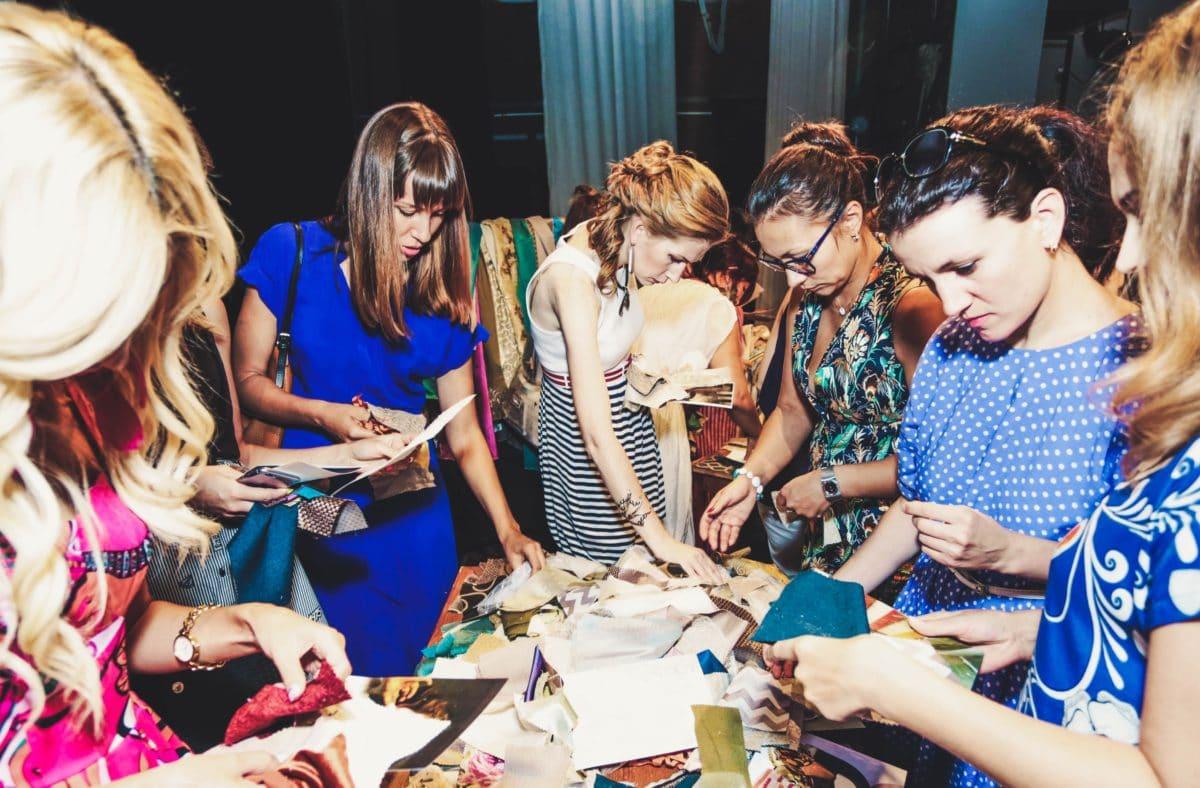 17 августа в Самаре прошёл мастер-класс с текстилем