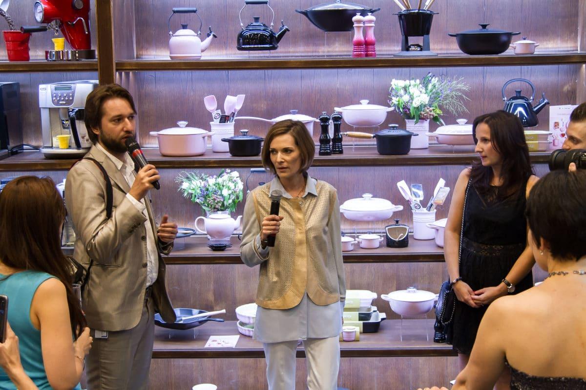 В «Шато де Вэссель» презентовали посуду премиального бренда Le Creuset