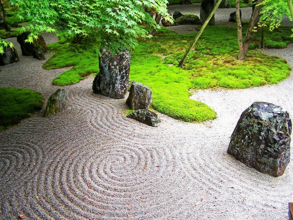 Идеи ландшафтного дизайна: японский сад камней и как его сделать