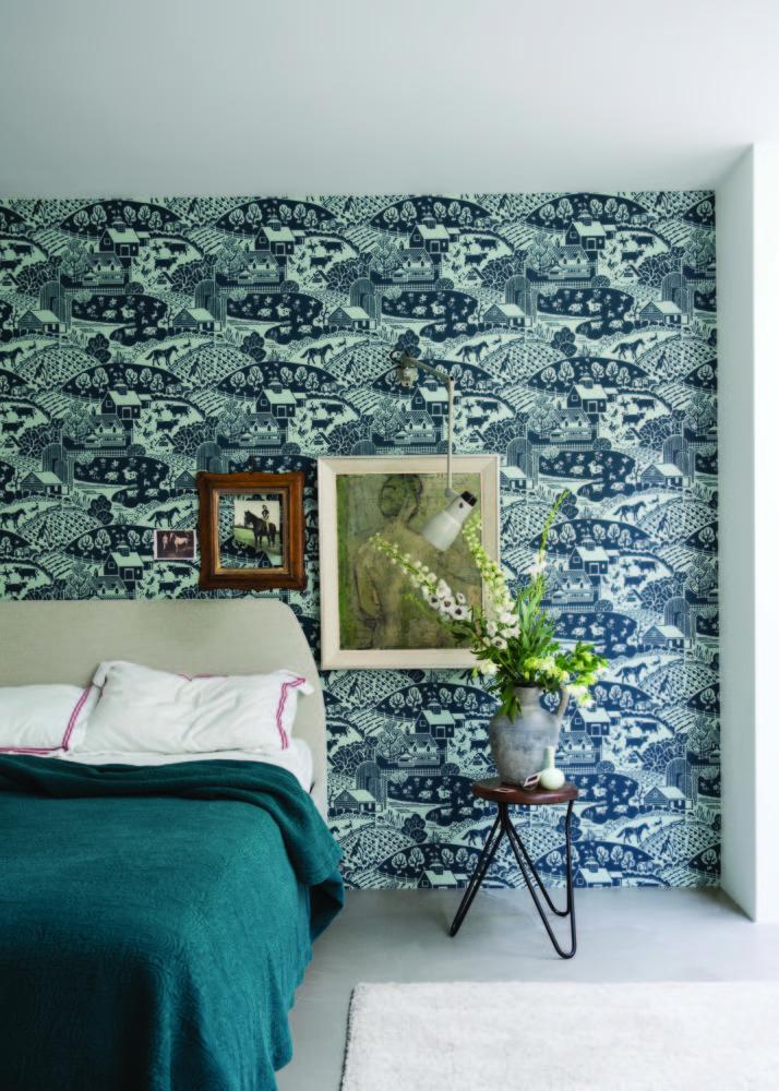 Спальня в  цветах:   Белый, Голубой, Светло-серый, Синий, Черный.  Спальня в  стиле:   Минимализм.
