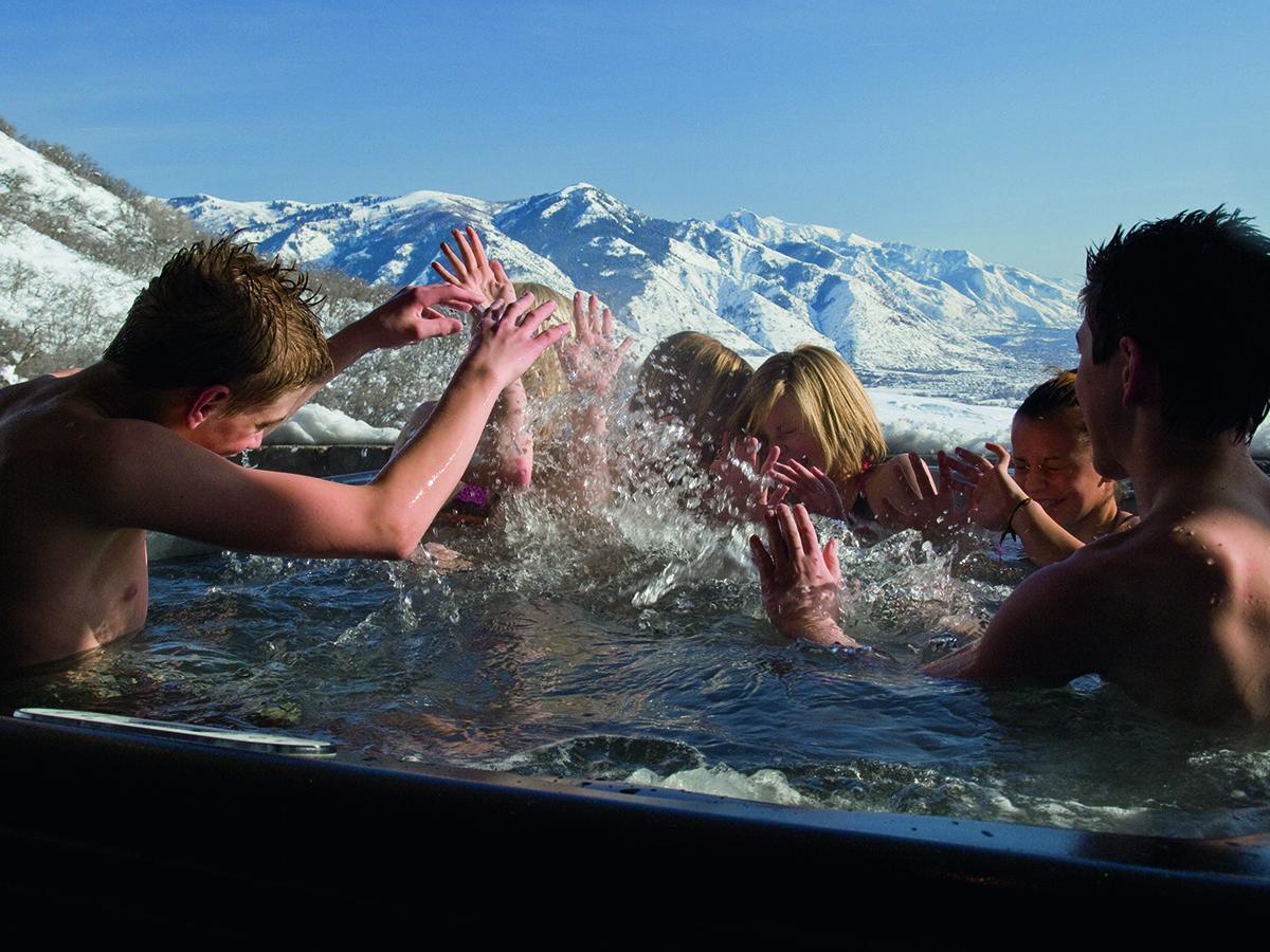Можно ли эксплуатировать спа-бассейн зимой на открытом воздухе