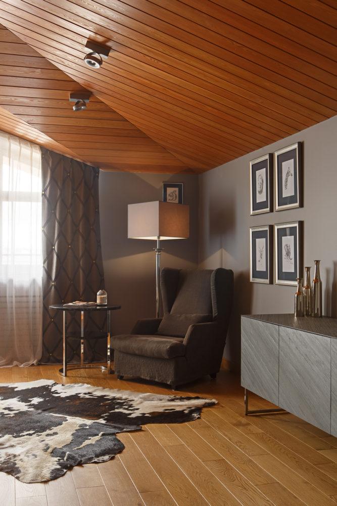 Гостиная в  цветах:   Бежевый, Коричневый, Светло-серый, Серый, Темно-коричневый.  Гостиная в  стиле:   Минимализм.
