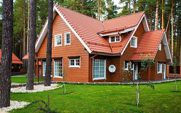Место, где хочется жить: яркий загородный дом в Подмосковье