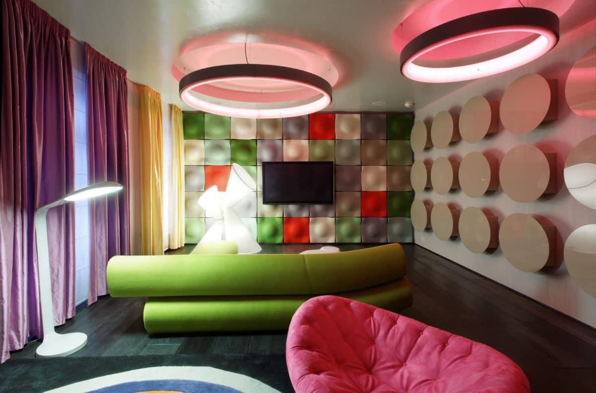 Идеи дизайна квартиры: необычный пентхаус в Москве