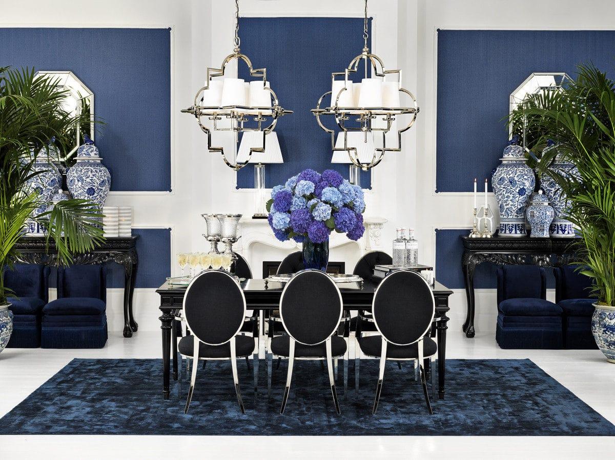 Интерьер в синем цвете: самый модный тренд сезона