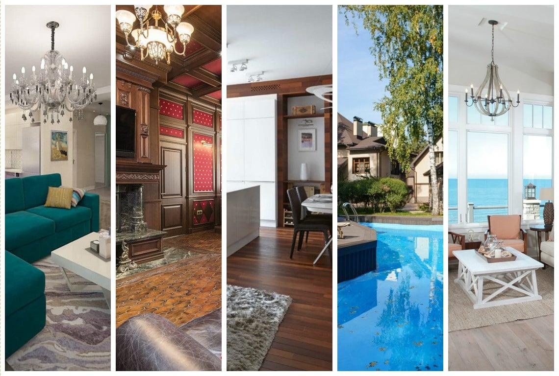 Лучшие дома и интерьеры октября