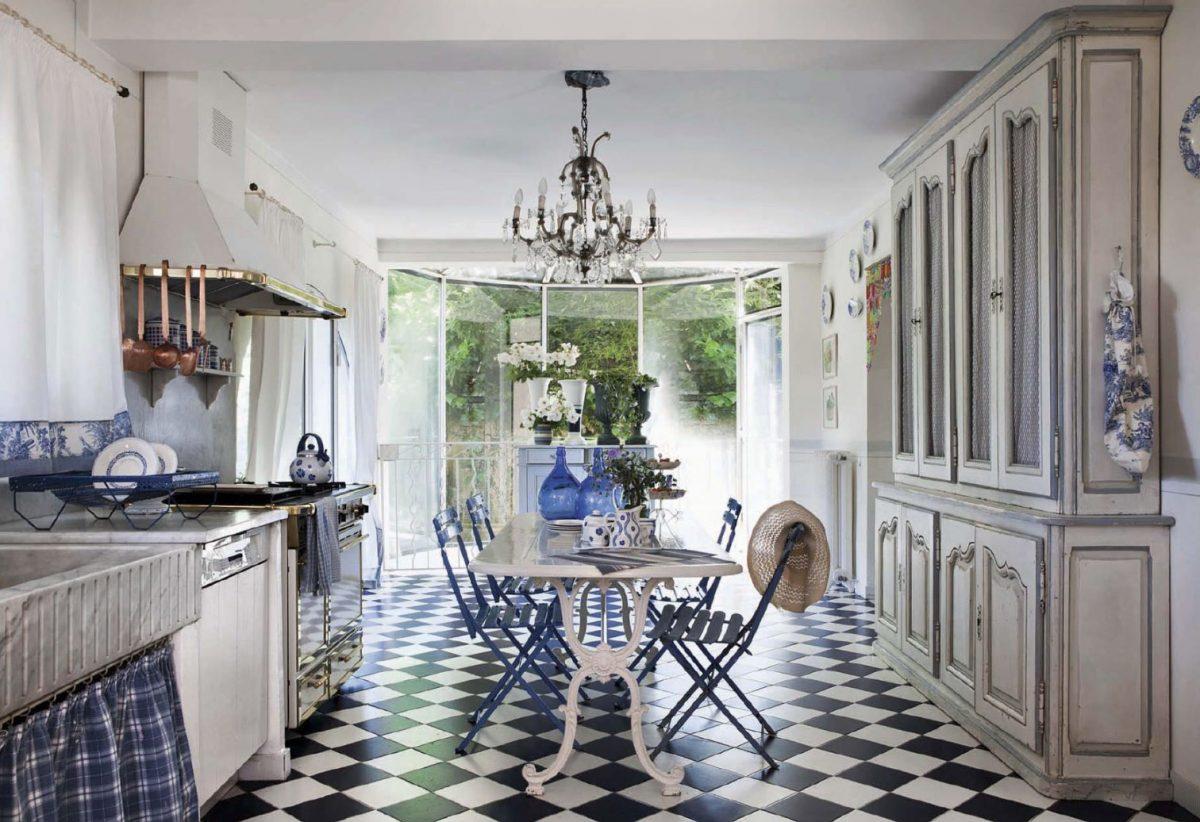Интерьер в стиле прованс: 15 кухонь для уютных зимних вечеров