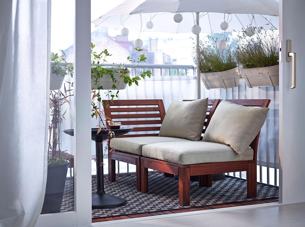 Комната на балконе: 6 вариантов освоения крохотной территории