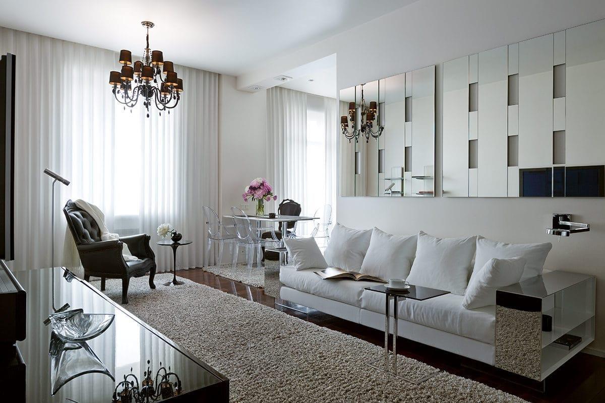 Белый интерьер: 5 великолепных квартир