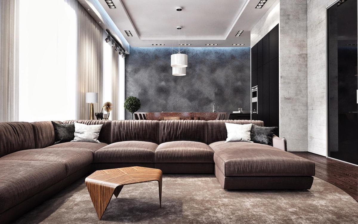 Дизайн двухкомнатной квартиры: 15 идей и море советов