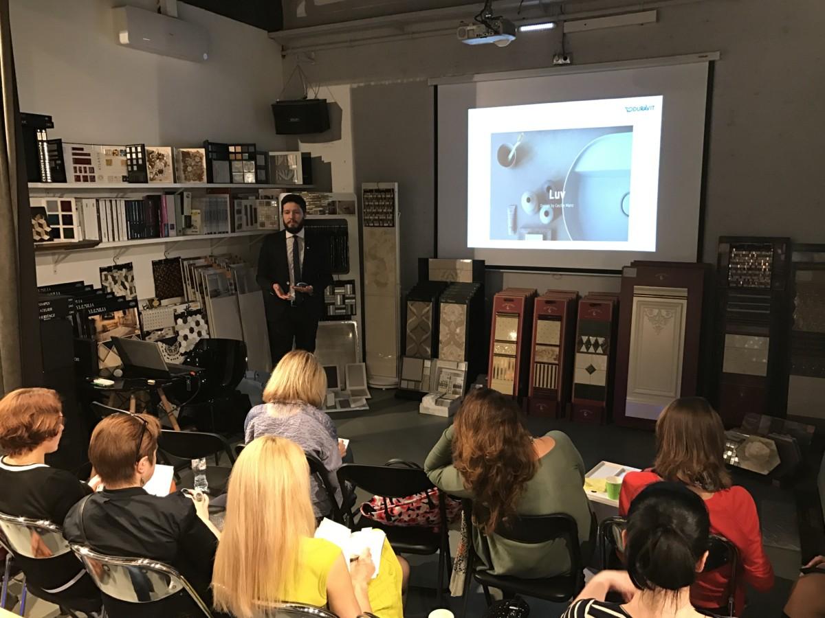 11 апреля компания «Хогарт» провела встречу, посвящённую новинкам сантехники