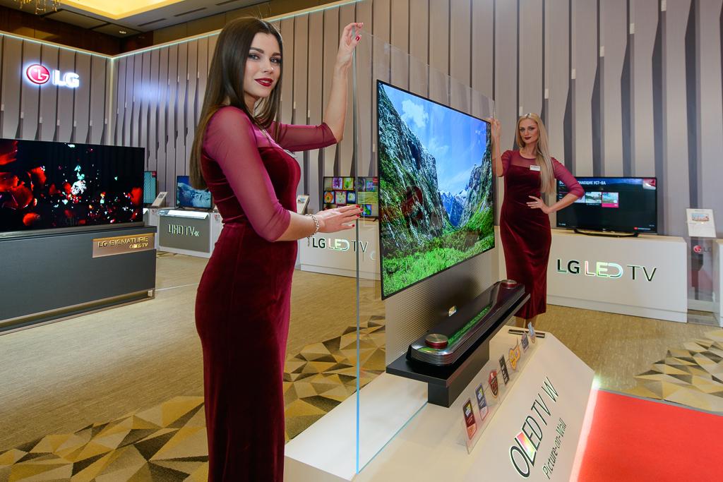 LG Electronics презентовала новые супертелевизоры