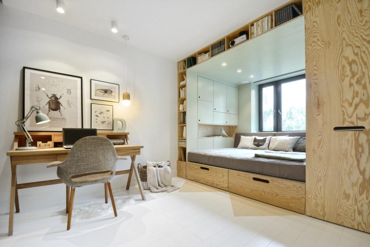Кровать-подиум в интерьере: идеи, которые вам понравятся