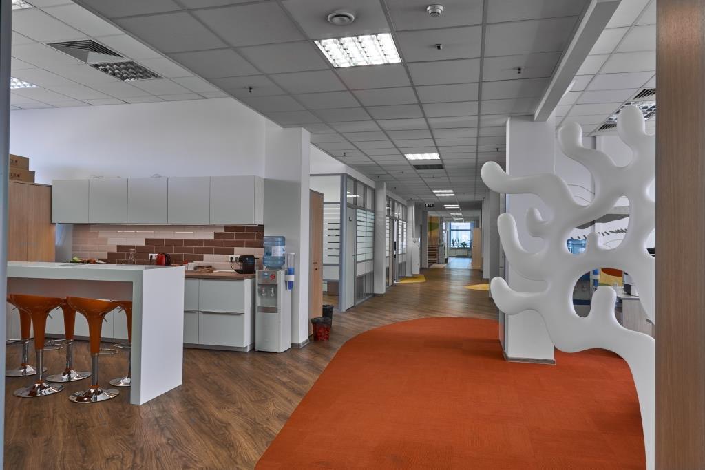 Дизайн офиса: яркий пример в стиле Ван Гога