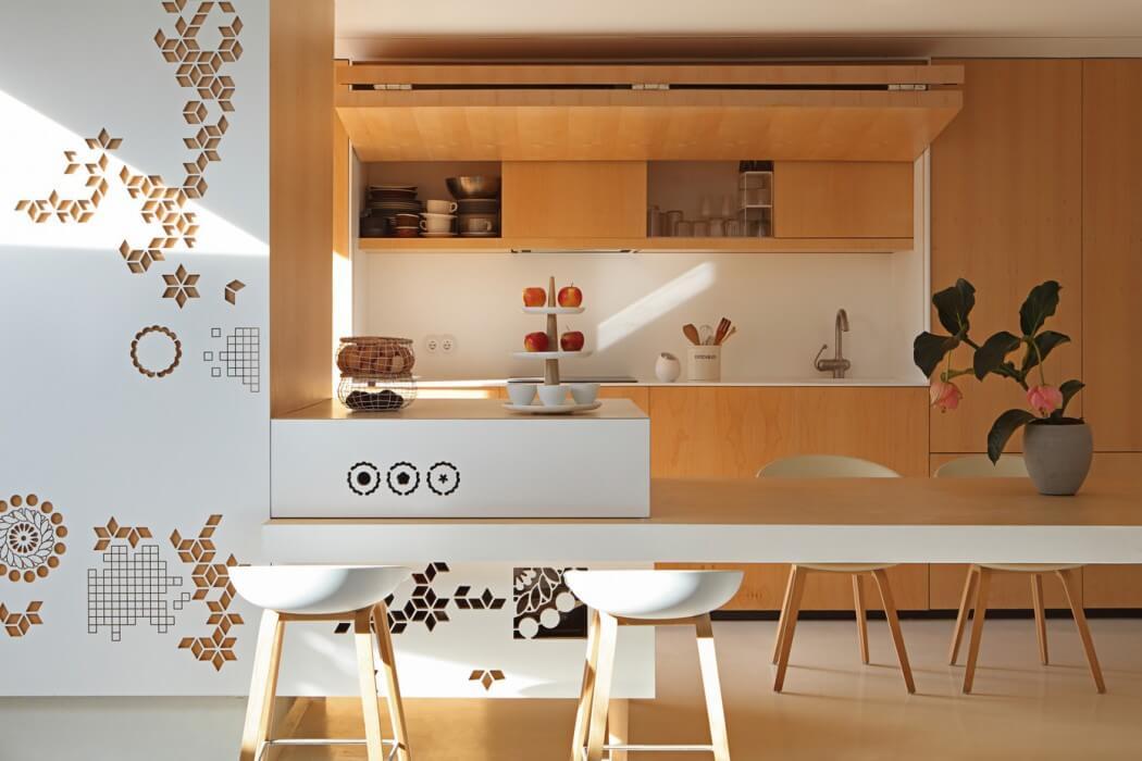 6 двухкомнатных квартир в скандинавском стиле