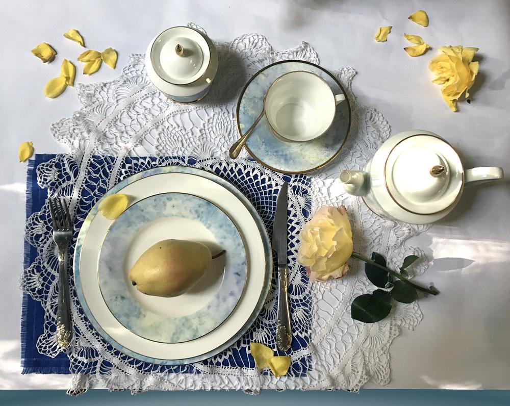 26 октября откроется персональная выставка сервировки Оксаны Лычагиной