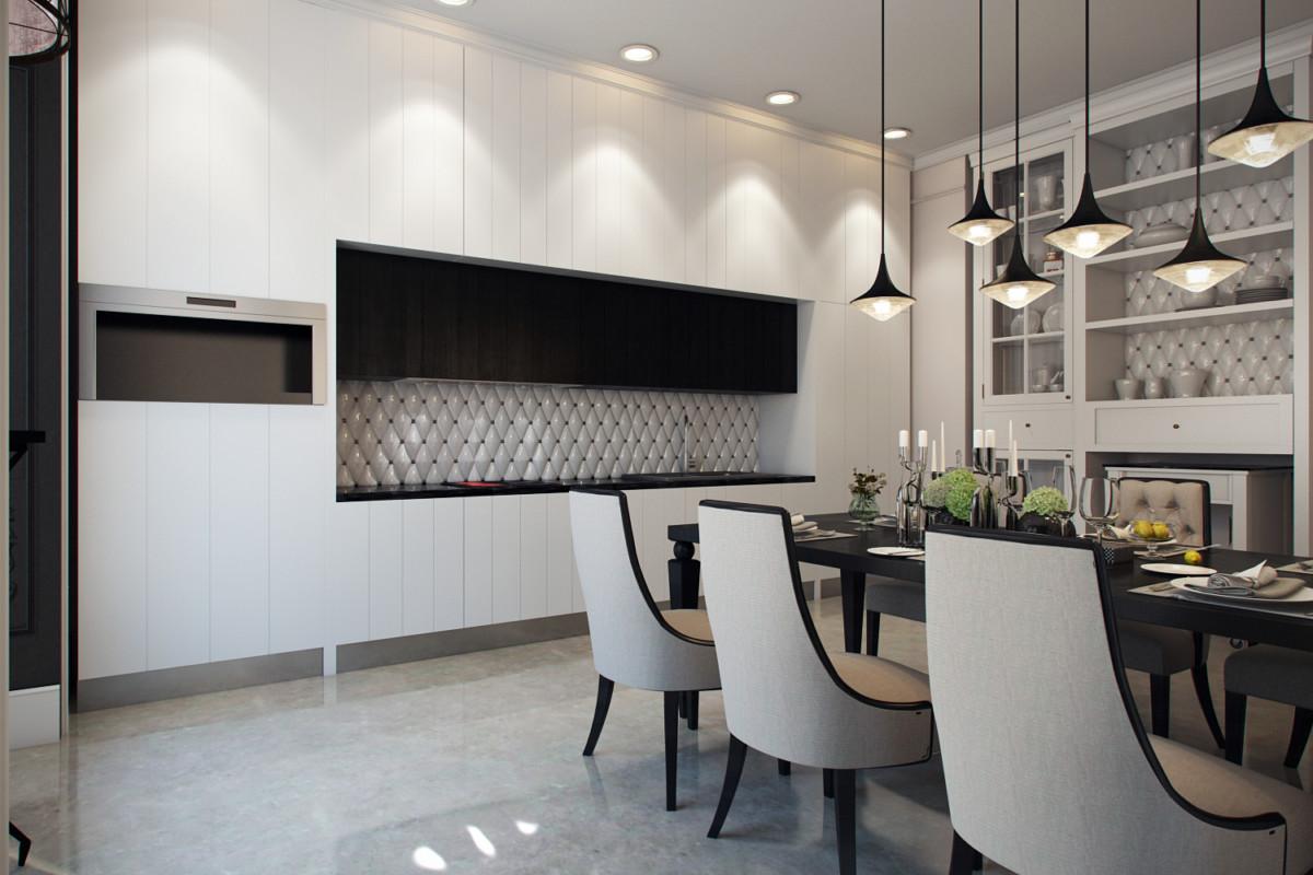 Интерьер квартиры в «BARRIN HOUSE» создавался, ориентируясь именно на основную задумку самого жилого комплекса. Так, здесь обложка и содержание соответствуют друг другу.Элитные интерьеры всегда завораживают своей роскошью, изысканным сочетанием всех элементов, эстетической, продуманностью каждой детали.