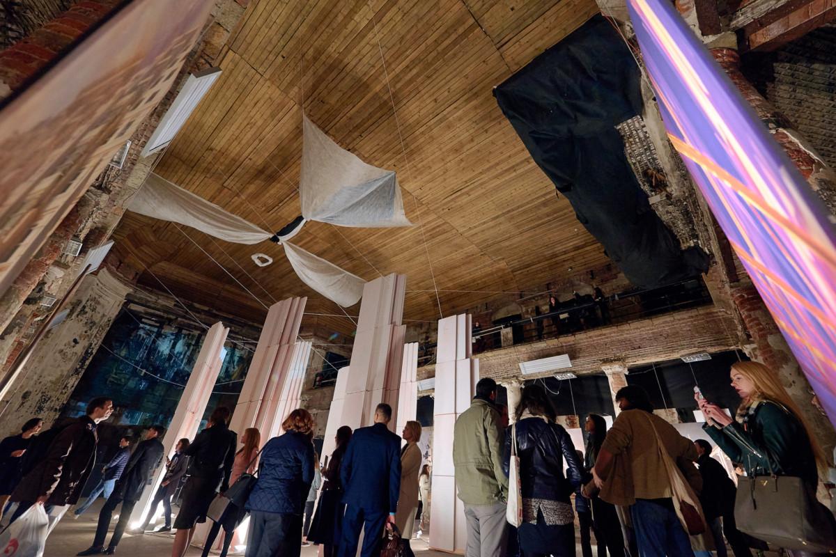 «Поиск героя» — фотоотчёт с открытия выставки архитектора Степана Липгарта