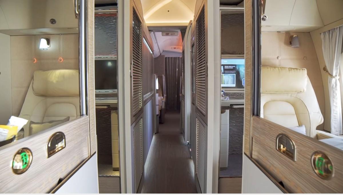 Спа в воздухе: чем может удивить первый класс в самолётах