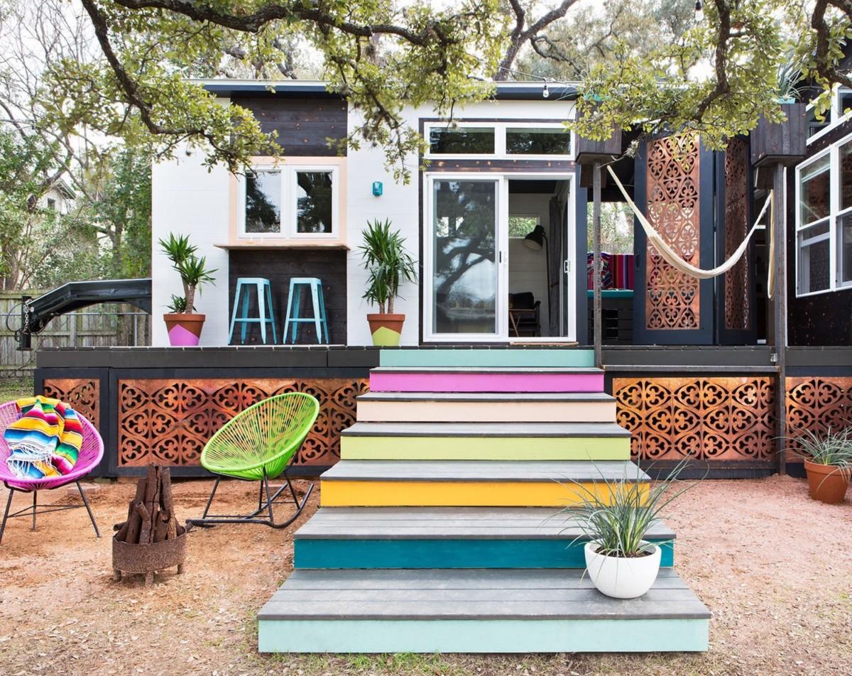 40 чудных маленьких домиков снаружи и изнутри