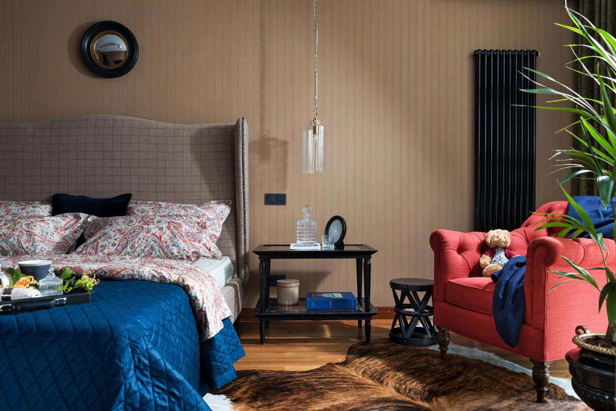 Квартира с мебелью Ralph Lauren в киевской квартире