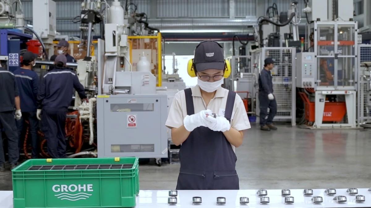 Компания Grohe запустила производство на новом цинковом заводе в Таиланде