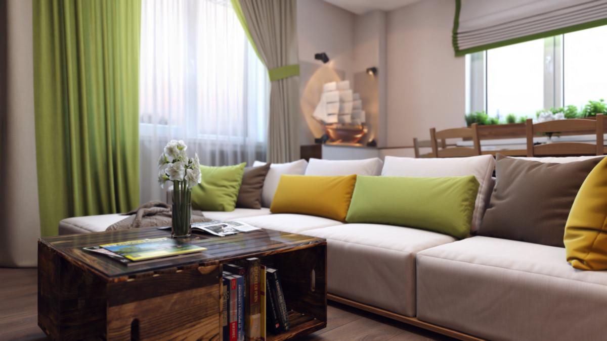 Как оформить современную квартиру в экостиле: пример из Москвы